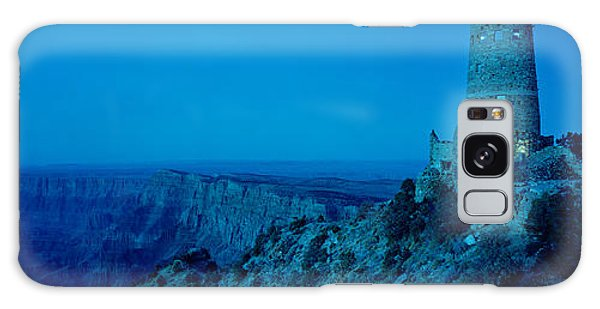 Desert View Tower Galaxy Case - Rock Formations In A National Park by Panoramic Images