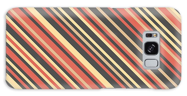 Striped Pattern Galaxy Case by Mike Taylor