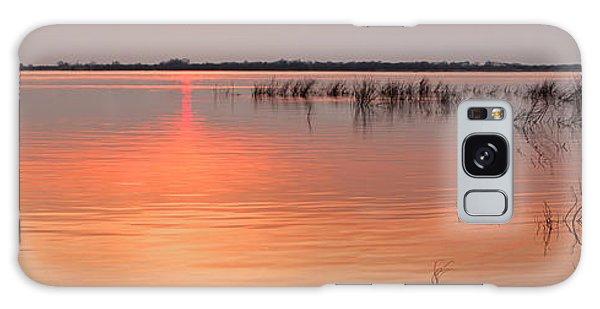 Sunset  River Panorama Galaxy Case by Vitaliy Gladkiy