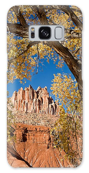 The Castle Capitol Reef National Park Galaxy Case