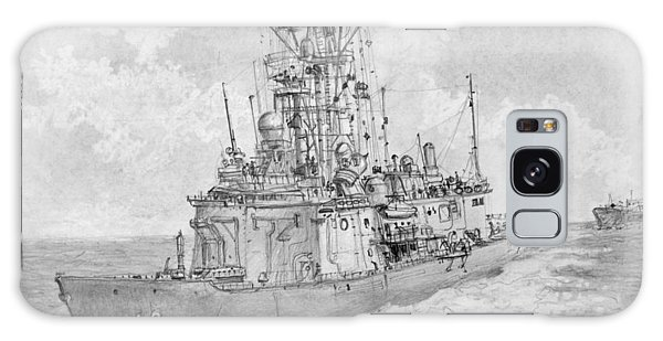 Usn Guided Missile Frigate Galaxy Case by Jim Hubbard