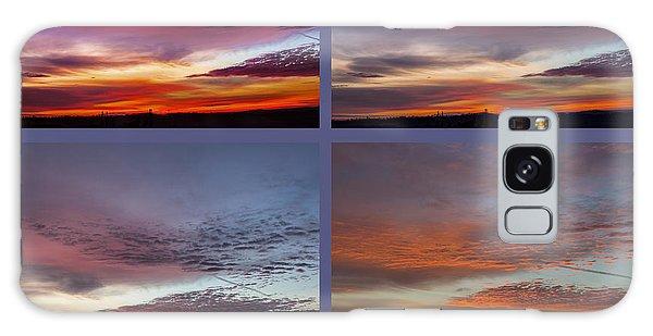 4 Views Of Sunrise 2 Galaxy Case