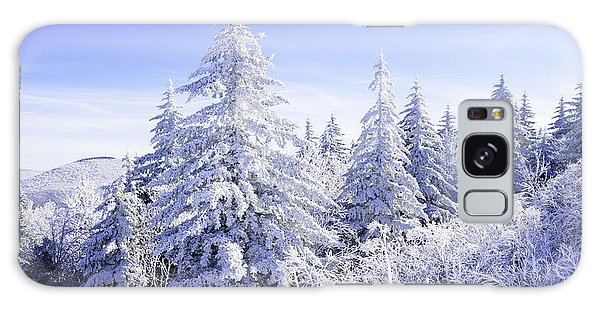Winter Along The Highland Scenic Highway Galaxy Case