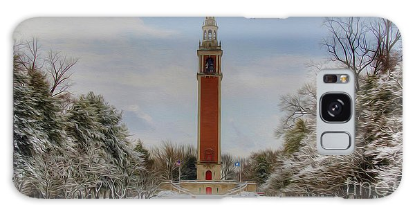 Winter At The Carillon Galaxy Case