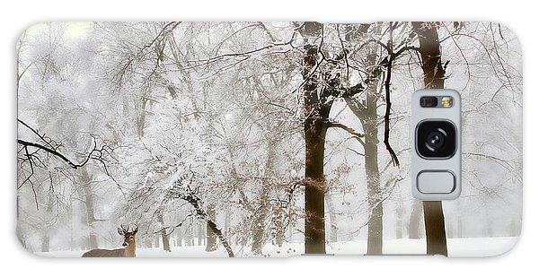Winter's Breath Galaxy Case by Jessica Jenney
