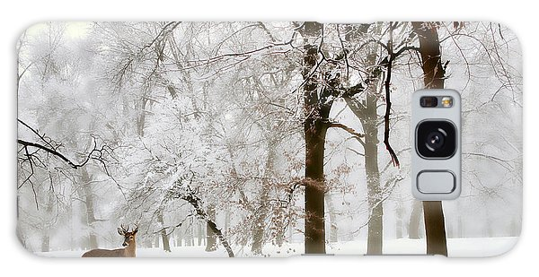 Winter's Breath Galaxy Case
