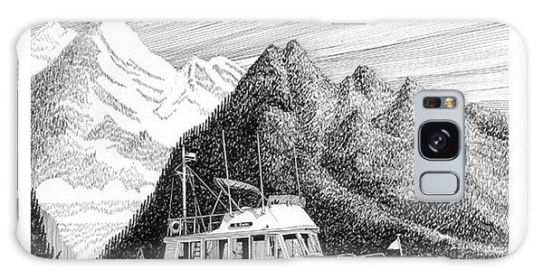 Motor Yacht Galaxy Case - Grand Banks Desolation Sound by Jack Pumphrey