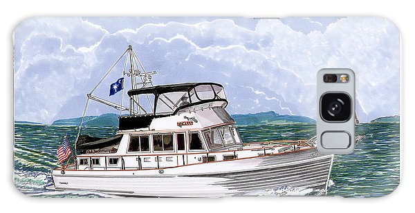 Motor Yacht Galaxy Case - 42 Foot Grand Banks Motoryacht by Jack Pumphrey