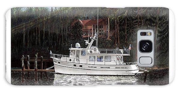 Motor Yacht Galaxy Case - Safe At Home by Jack Pumphrey