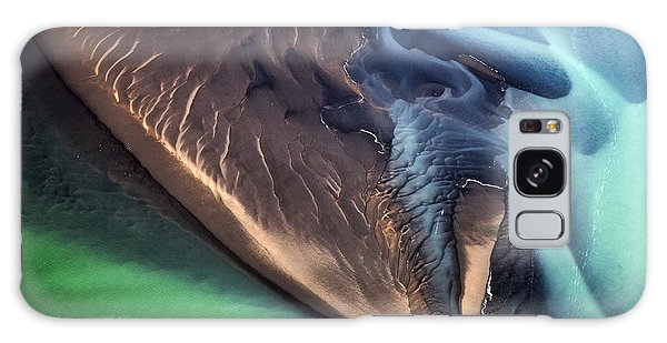 Iceland Aerial Photo Galaxy Case by Gunnar Orn Arnason