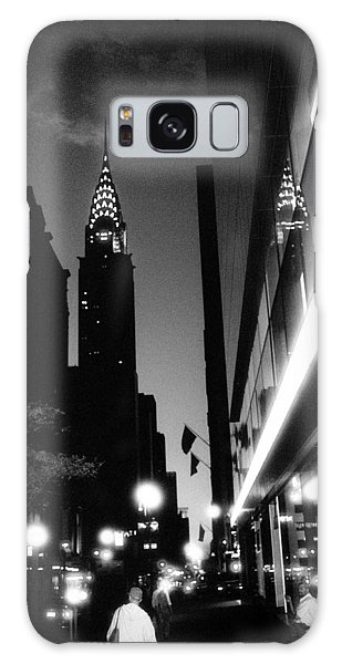 42nd-street-dawn Galaxy Case by Dave Beckerman