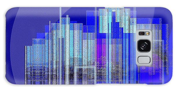 462 - Big City Abstract ... Galaxy Case by Irmgard Schoendorf Welch