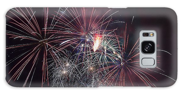 4th Of July Fireworks Portland Oregon 2013 Galaxy Case by JPLDesigns