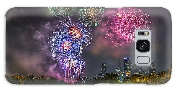 4th Of July In Houston Texas Galaxy Case