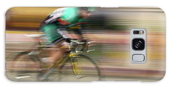 Amateur Galaxy Case - Amateur Men Bicyclists Competing by Panoramic Images