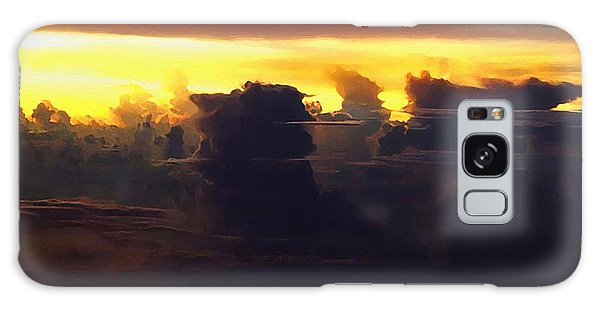 Strange Clouds Galaxy Case - Among The Clouds by Ellen Henneke