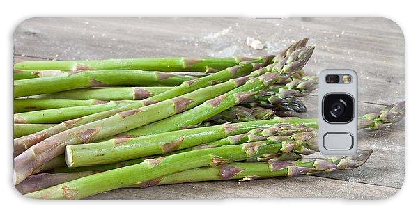 Asparagus Galaxy Case - Asparagus by Tom Gowanlock