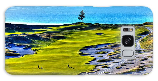 #5 At Chambers Bay Golf Course - Location Of The 2015 U.s. Open Tournament Galaxy Case