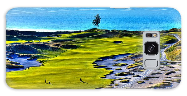 #5 At Chambers Bay Golf Course - Location Of The 2015 U.s. Open Tournament Galaxy Case by David Patterson