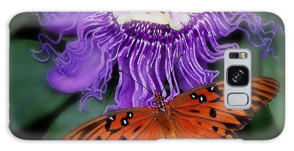 Butterfly Garden Galaxy Case