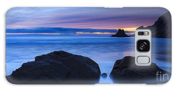 Campelo Beach Galicia Spain Galaxy Case