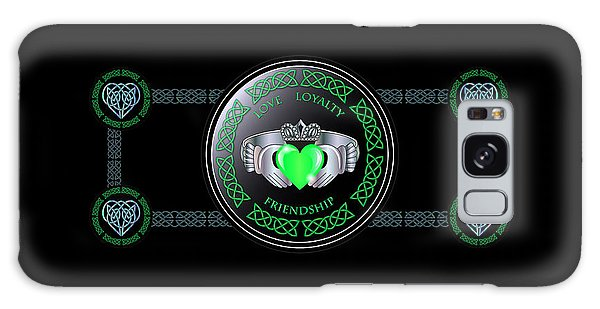Celtic Claddagh Ring  Galaxy Case