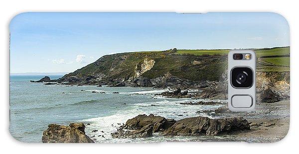 Cornish Seascape Gunwalloe Galaxy Case