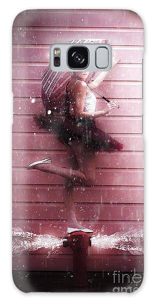 Bricks Galaxy Case - Dancer by Jorgo Photography - Wall Art Gallery