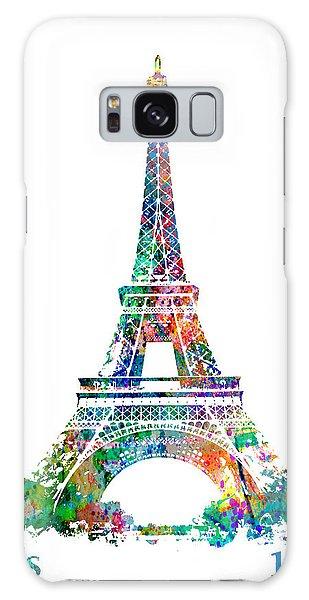 Eiffel Tower Paris France 1889 Galaxy Case
