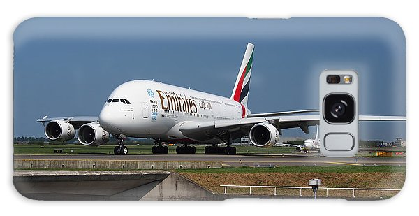 Emirates Airbus A380 Galaxy Case by Paul Fearn