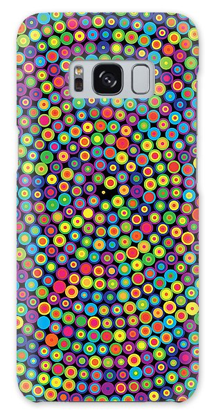 Visualization Galaxy Case - Frequency Distribution Of Digits In Pi by Martin Krzywinski