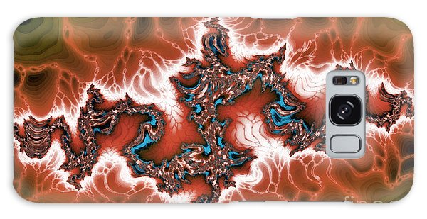 Strange Clouds Galaxy Case - Intersting Fractal Forms by Odon Czintos