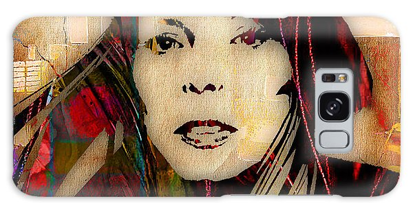Folk Singer Galaxy Case - Joni Mitchell Collection by Marvin Blaine