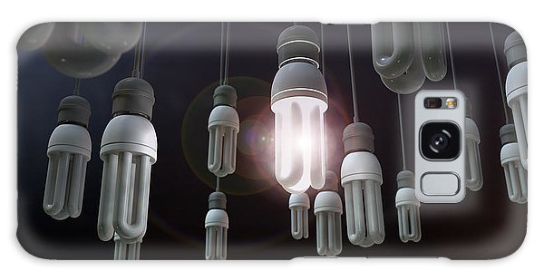 Thought Galaxy Case - Leadership Hanging Lightbulb by Allan Swart