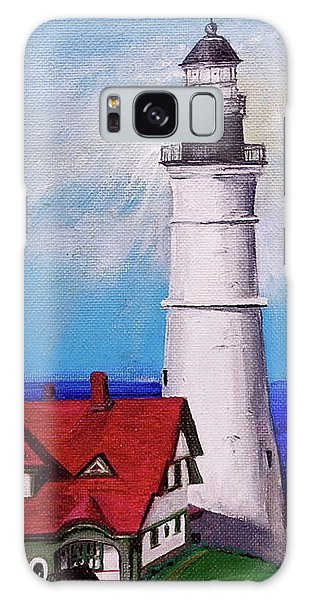 Lighthouse Hill Galaxy Case