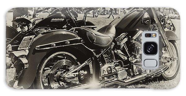 Red Harley Galaxy Case by Wilma  Birdwell