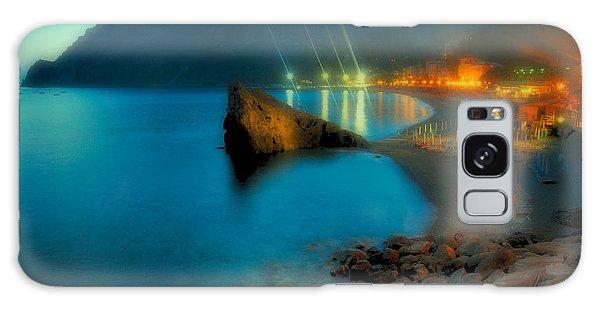 5 Terre Monterosso Beach In Passeggiate A Levante Galaxy Case