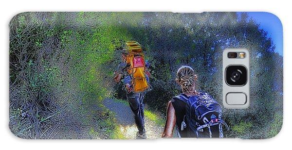 5 Terre Monterosso Trekking In Passeggiate A Levante Galaxy Case