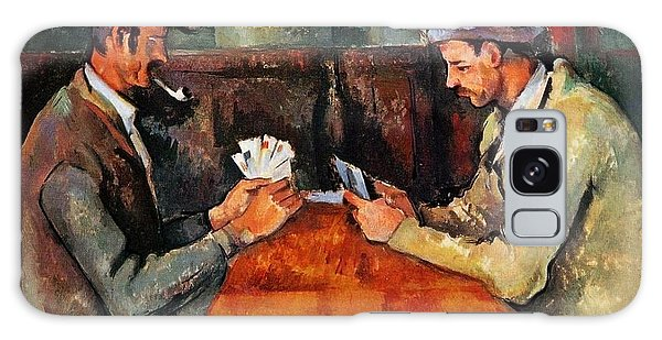 Art Institute Galaxy Case - The Card Players by Paul Cezanne