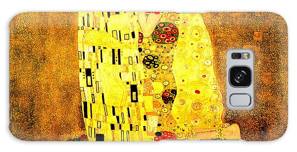 The Kiss Galaxy Case by Gustav Klimt