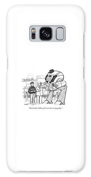 Derek Jeter Galaxy S8 Case - With The Jeter 2000 by Benjamin Schwartz