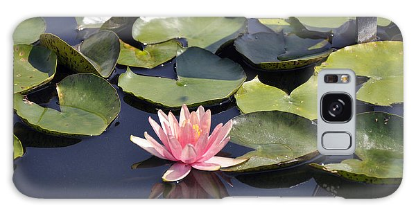 Water Lily Galaxy Case by Dottie Branchreeves