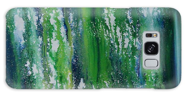 Galaxy Case featuring the painting Greenery Duars by Tamal Sen Sharma