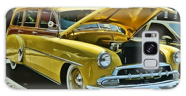 '52 Chevy Wagon Galaxy Case by Victor Montgomery