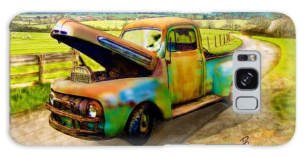 52 Ford F3 Pick-up Truck Galaxy Case by Ric Darrell