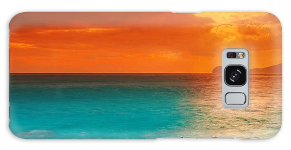 Beautiful Sunrise Galaxy Case - Sunrise by MotHaiBaPhoto Prints