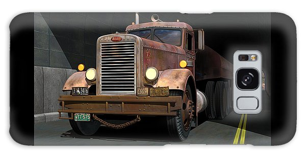 Semis Galaxy Case - '55 Peterbilt Tunnel Scene by Stuart Swartz