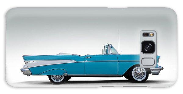 Automobile Galaxy Case - 57 Chevy Convertible by Douglas Pittman