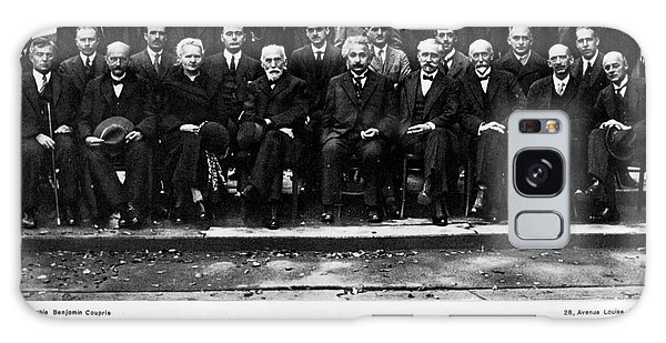 5th Solvay Conference Of 1927 Galaxy Case