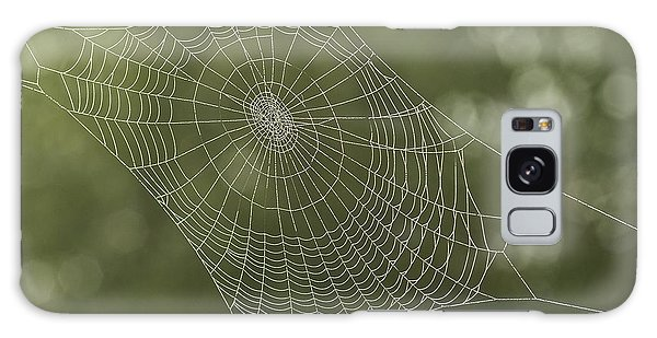 Spiderweb Galaxy Case by Odon Czintos